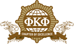 Phi Kappa Phi Chapter of Excellence Logo