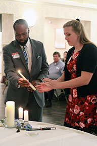 Candle Ceremony at Induction Ceremony 2019